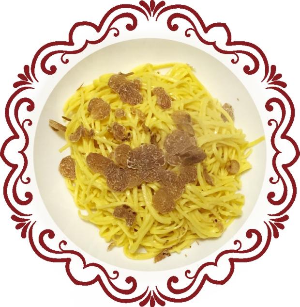 truffle tagliolini pasta recipe